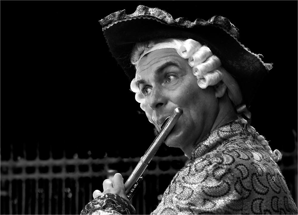 Der Flötenspieler von Sanssouci