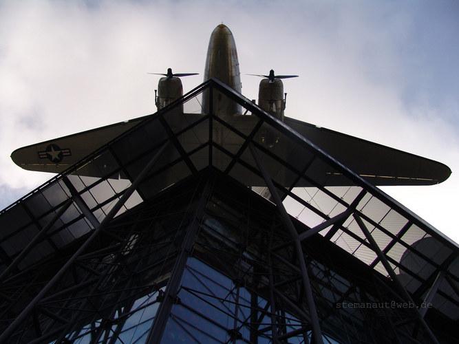 Der flug übers Technik Museum