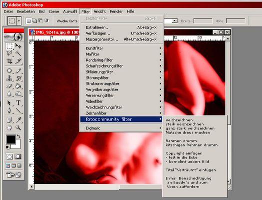 Der fotocommunity Filter!!