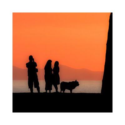 .. Der Fotograf, die Damen und der Hund