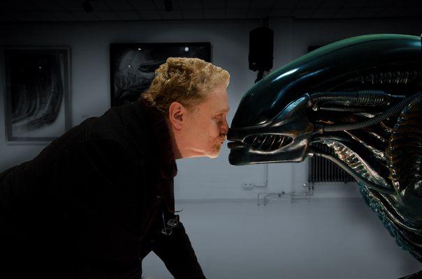 Der Fotograf und das Alien