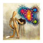 der Fotograf und das Feuerwerk