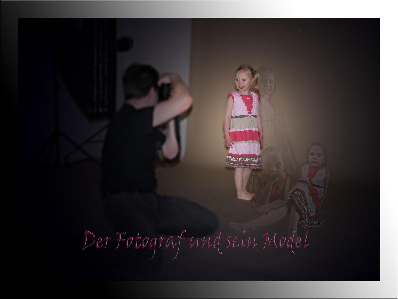 Der Fotograf und sein Model