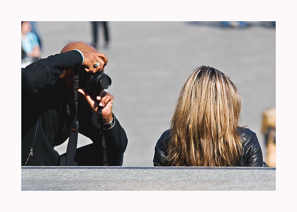 Der Fotograf und sein Model - oder: Konzentration auf das Wesentliche