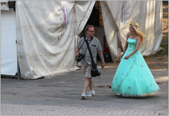 Der Fotograf ... und (s)eine Prinzessin.