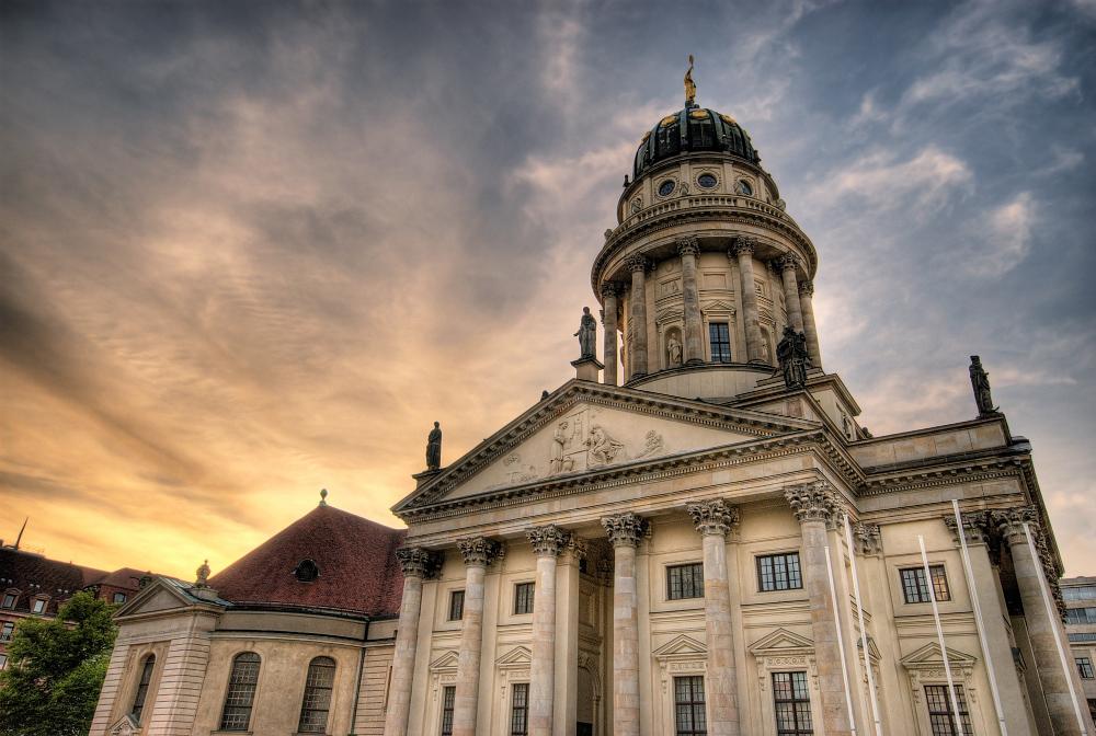 Der Französische Dom - Berlin - HDR