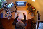 Der Frau Allendörfer ihr Schreibtisch