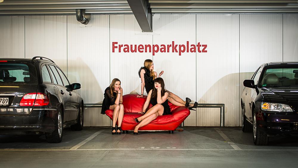 Der Frauenparkplatz