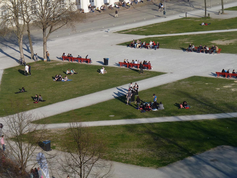 Der Friedrichsplatz gestern :-)