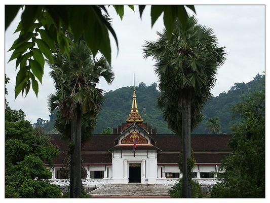 Der frühere Königspalast - Luang Prabang, Laos