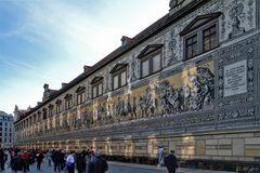 Der Fürstenzug zu Dresden