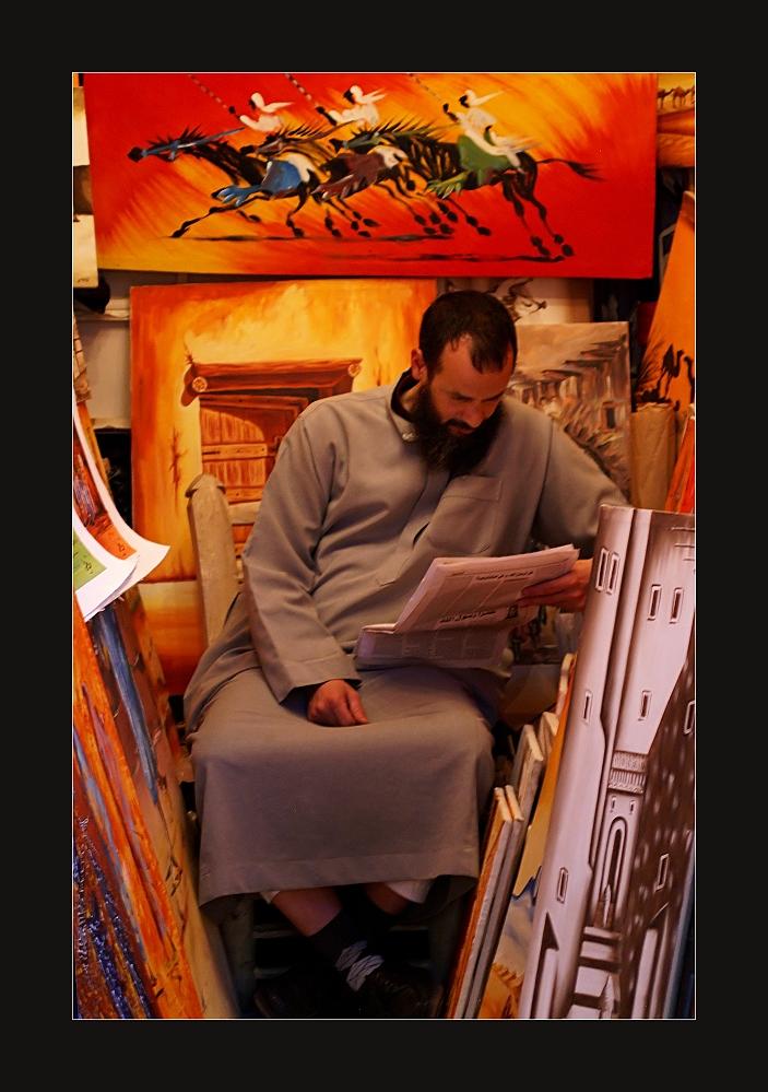 Der Galerist...