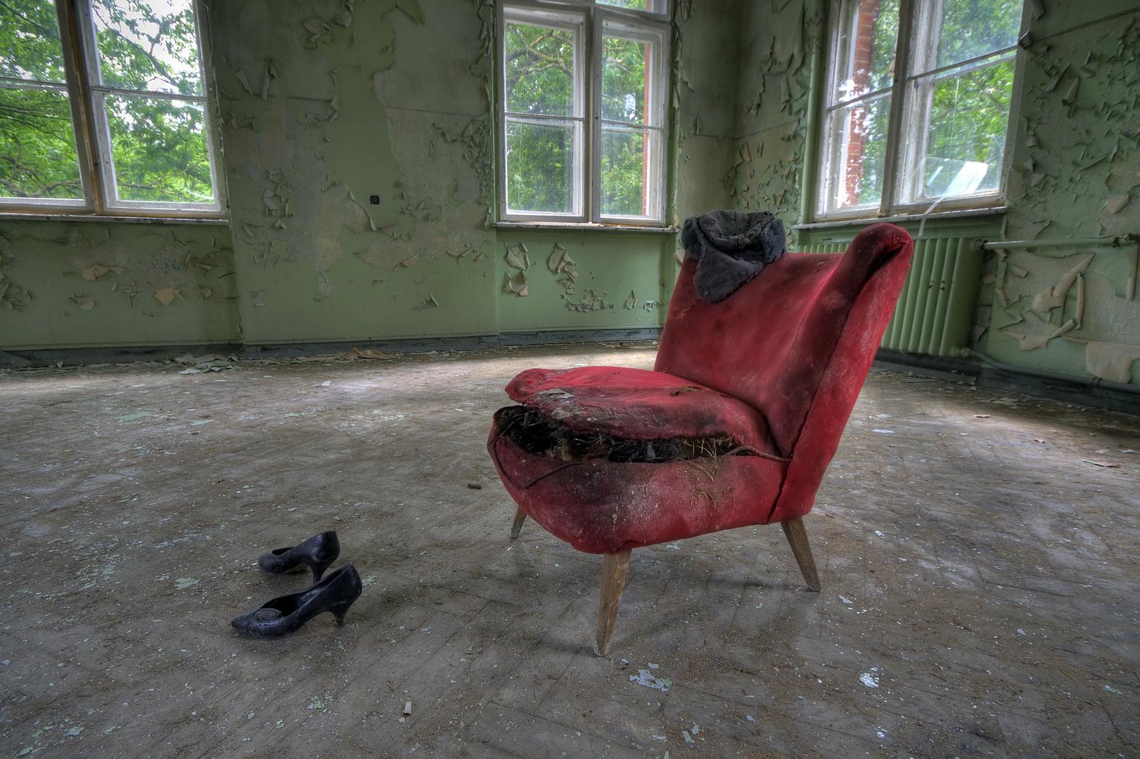 Der gefräßige Sessel