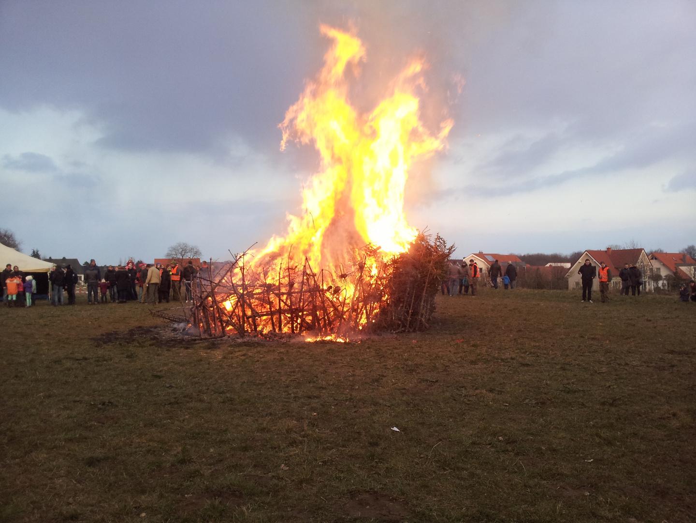 Der Geist im Osterfeuer