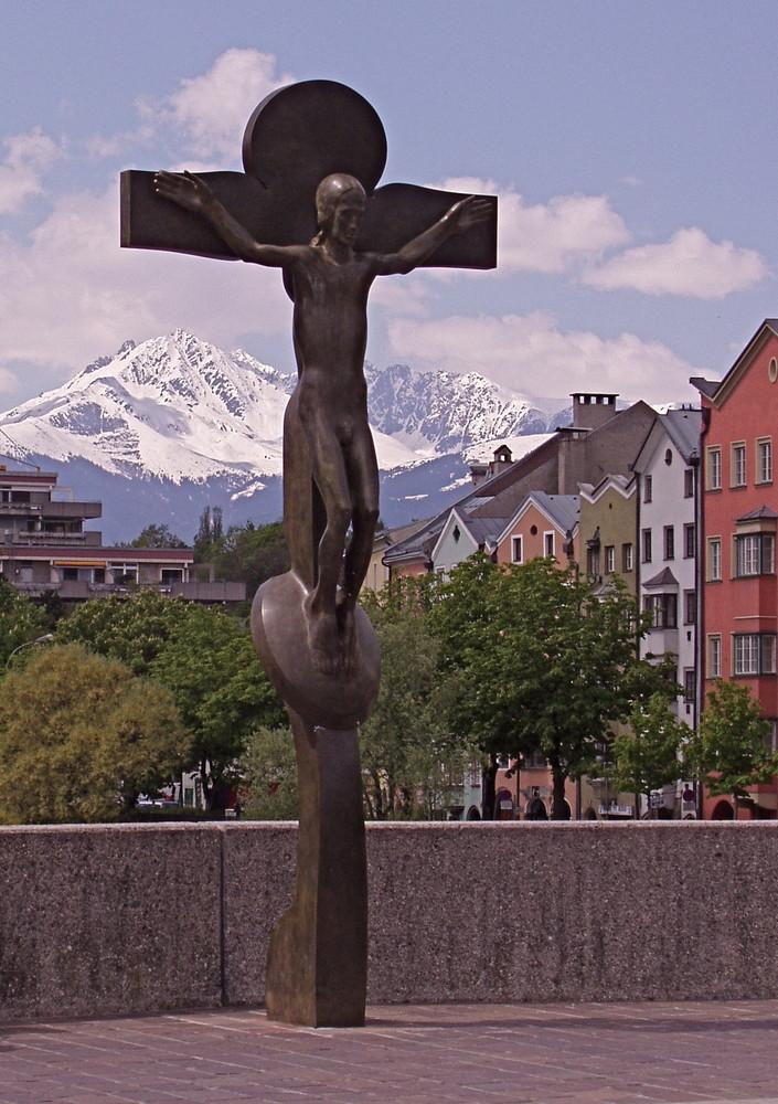 Der Gekreuzigte in Innsbruck