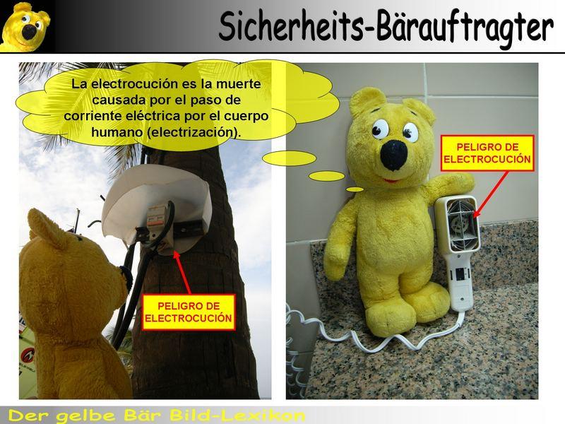 Der gelbe Bär Bild-Lexikon - Sicherheits-Bärauftragter