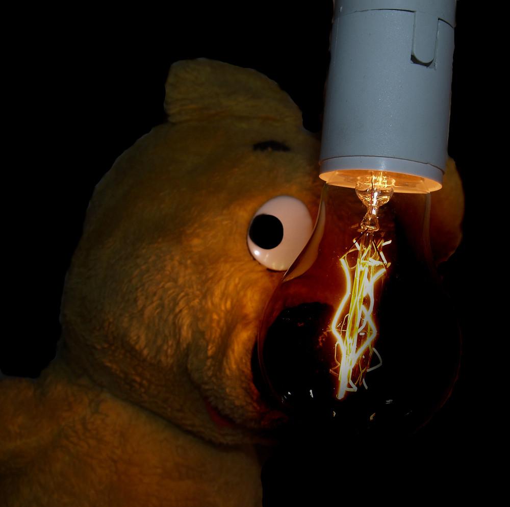 Der gelbe Bär - Die Glühbirne wird Geschichte