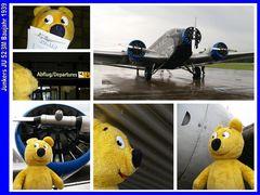 Der gelbe Bär im Himmel (mit der JU 52) - 1