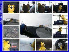Der gelbe Bär im Himmel (mit der JU 52) - 2