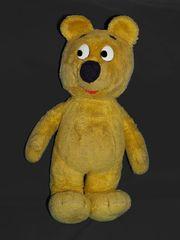 Der gelbe Bär lernt Chromakey