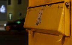 Der Gelbe und der Abbieger