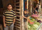 Der Gemüsehändler am Kaligath