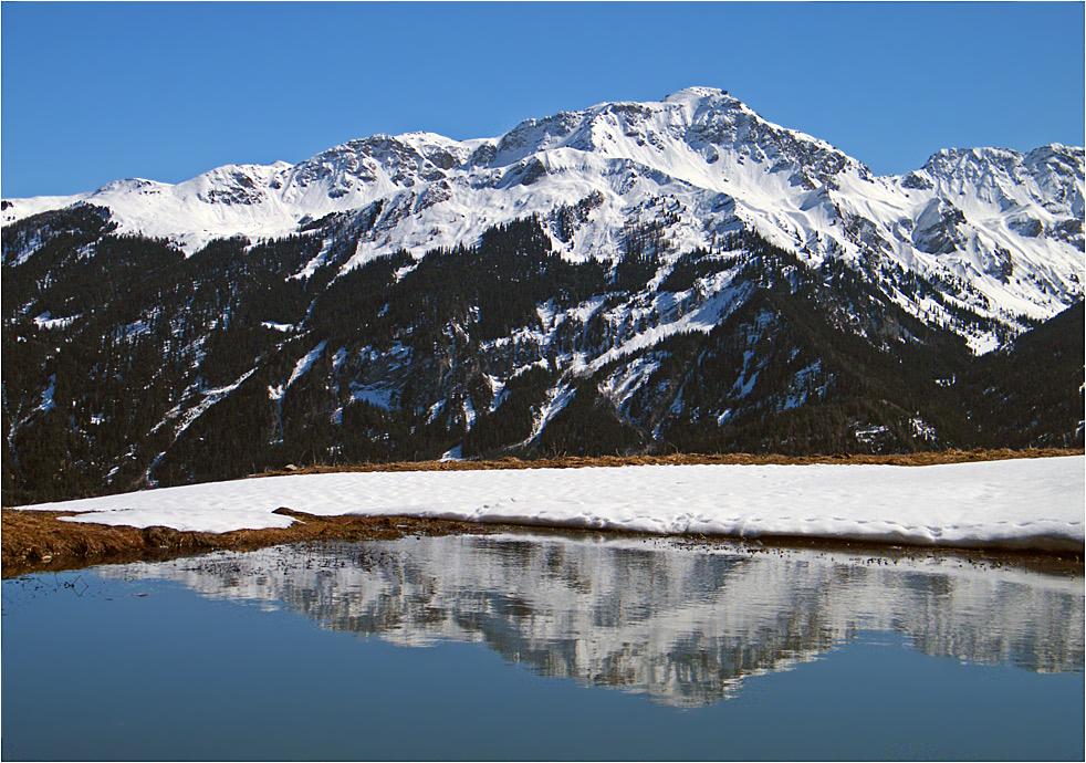 Der gespiegelte Gipfel...