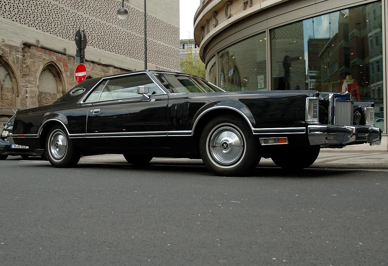 Der gewaltige Lincoln Continental