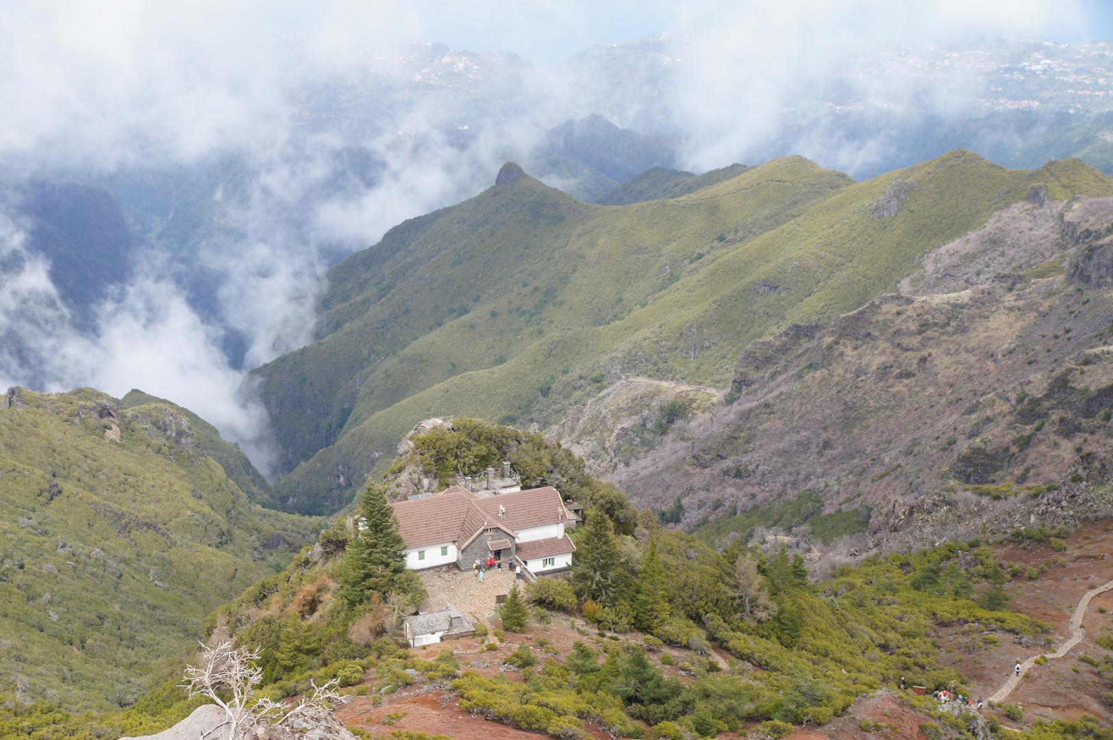 Der Gipfel Madeira's