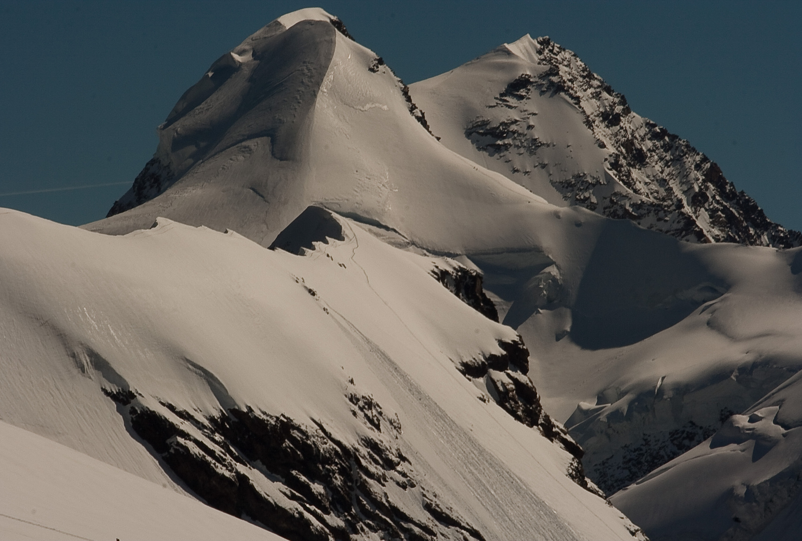Der Gipfel zum greifen nah
