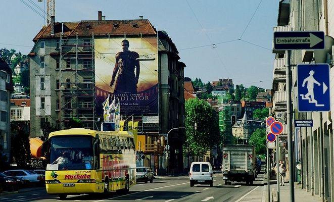 Der Gladiator heute mal nicht in Rom aber in ....?