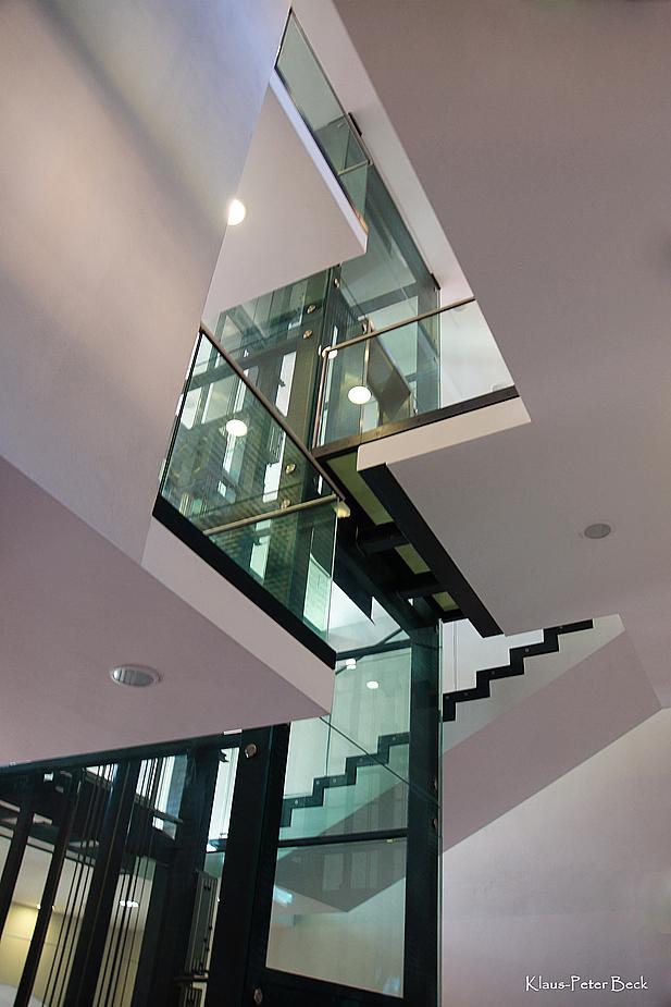 Der gläserne Aufzug