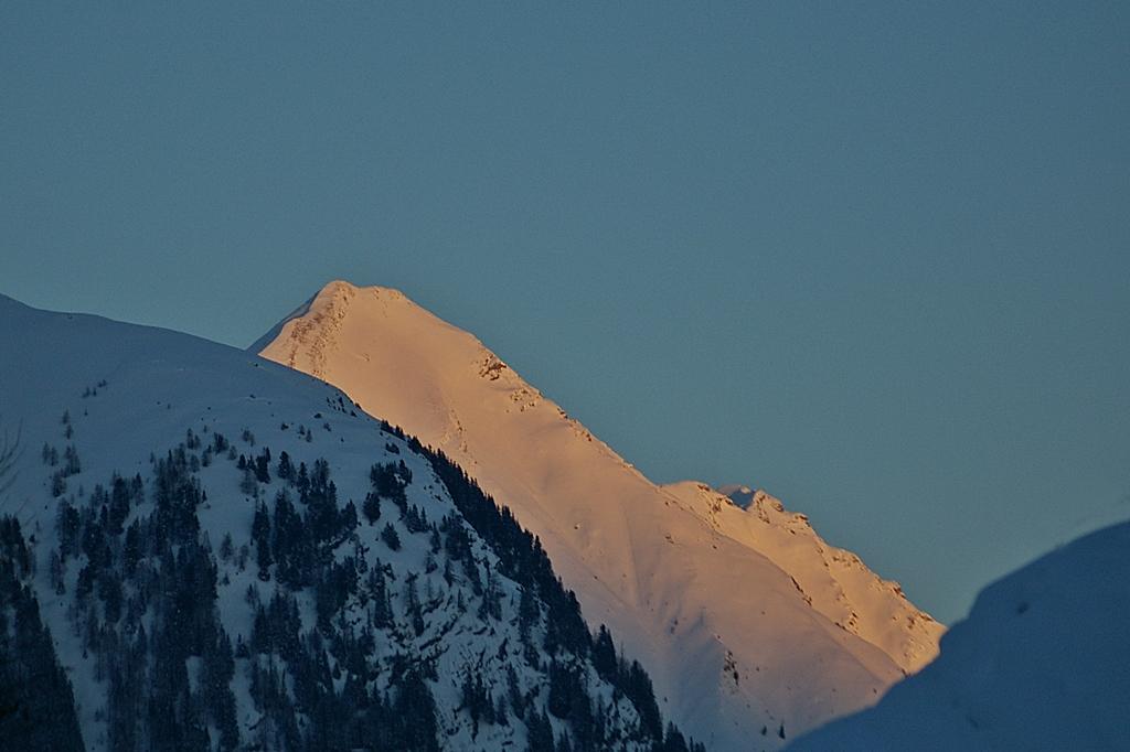 ....Der Glaserer 2434m im letzten Sonnenlicht....