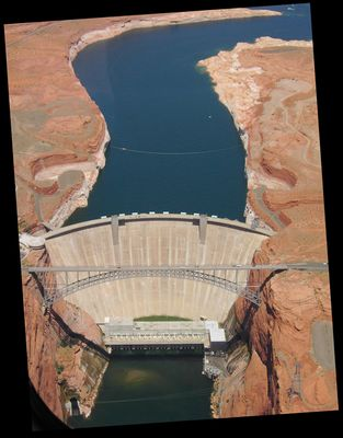 Der Glen-Canyon-Staudamm (Grand Canyon)