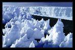 Der Gletscher des Kilimandscharo