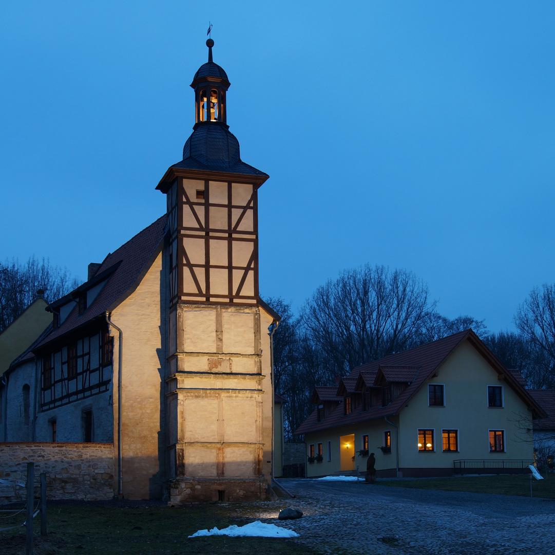 Der Glockenturm in Bergen...