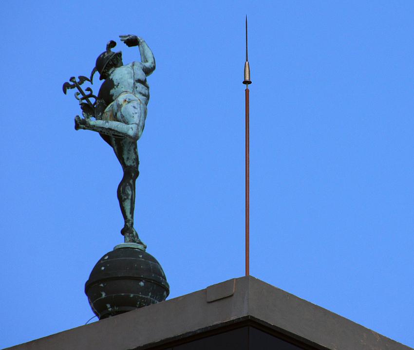 ..der Götterbote Merkur..
