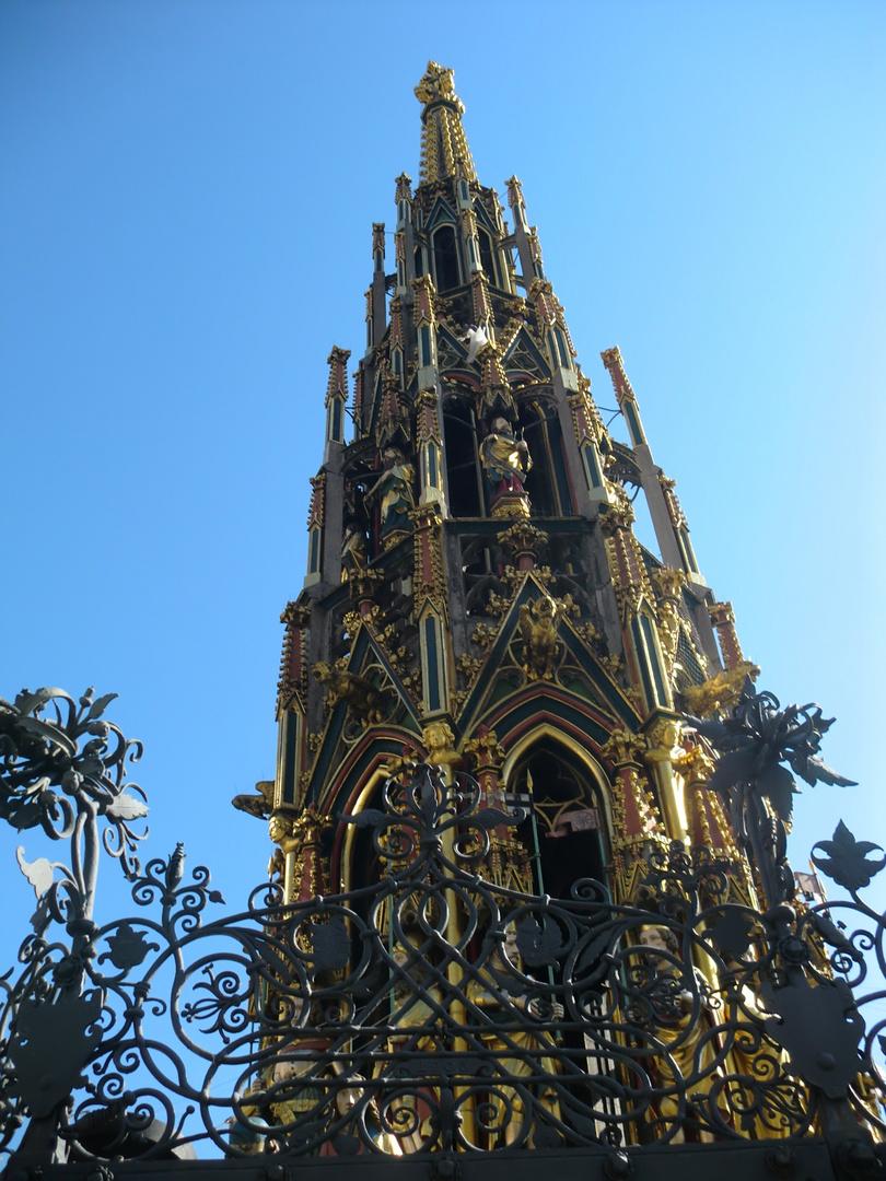 Der Goldene Brunnen in Nürnberg