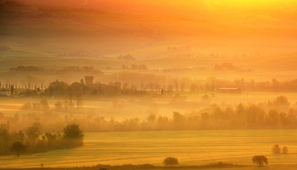 Der goldene Morgen