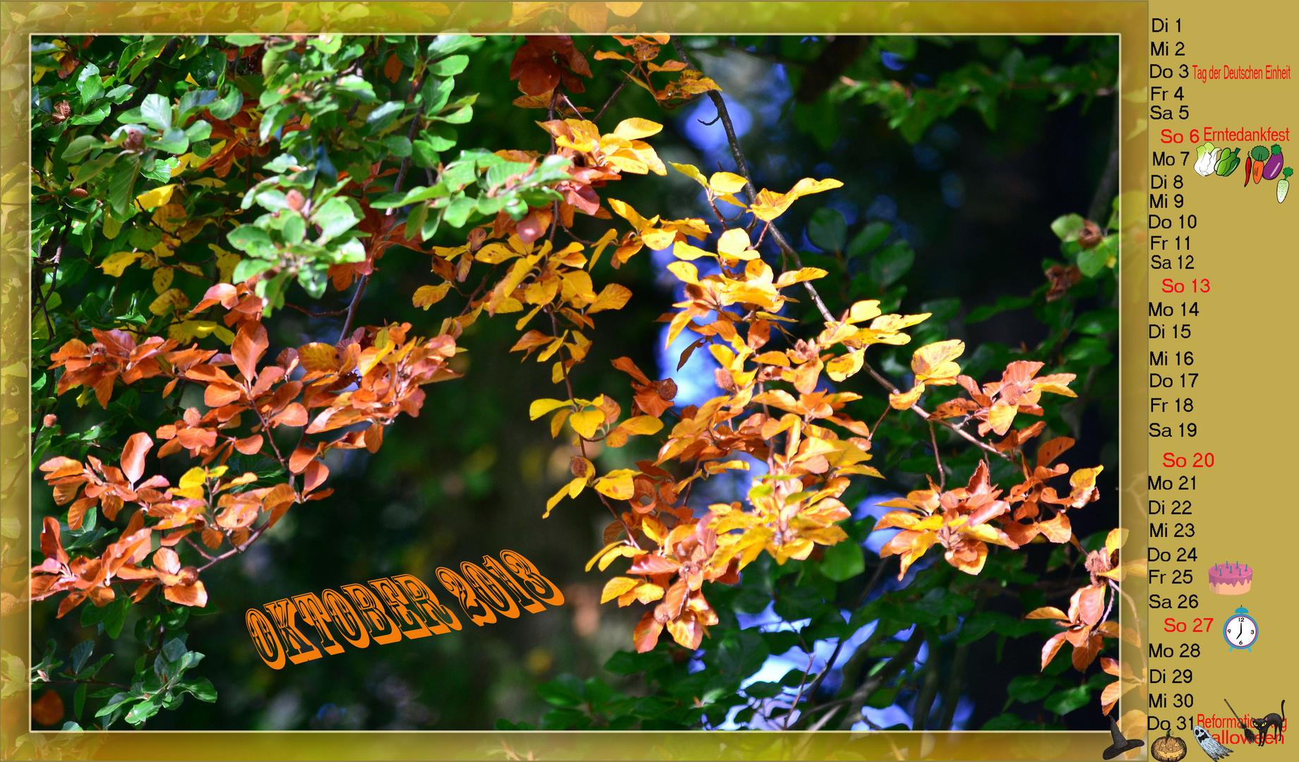 """Der """"Goldene Oktober """" ....."""