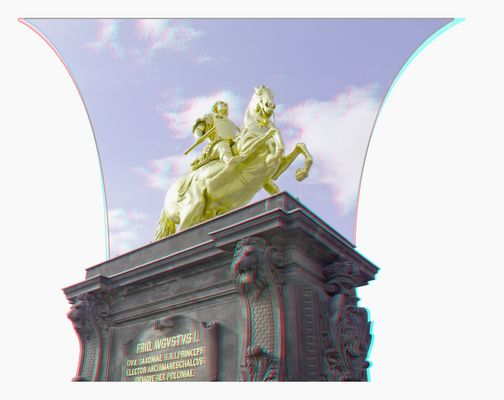 Der goldene Reiter, Dresden