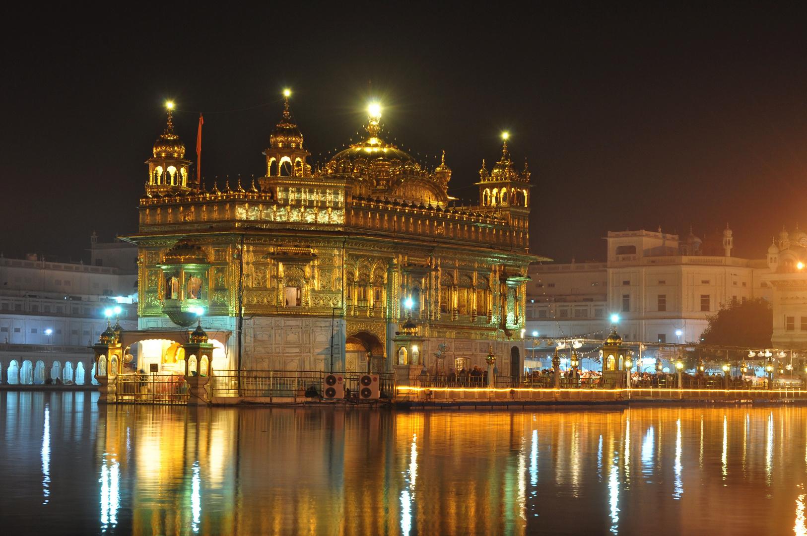 der goldene tempel von amritsar