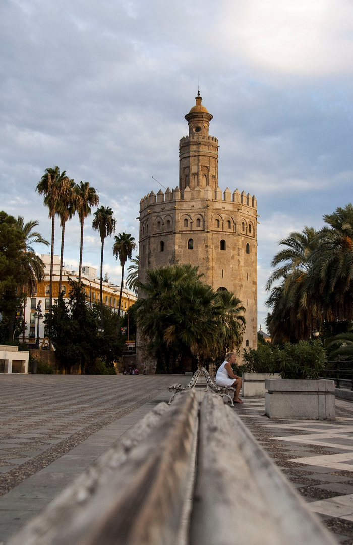 der goldene Turm Sevillas
