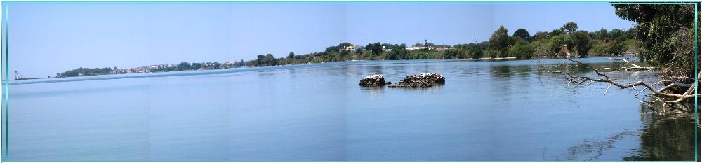 Der Golf von Preveza in GR