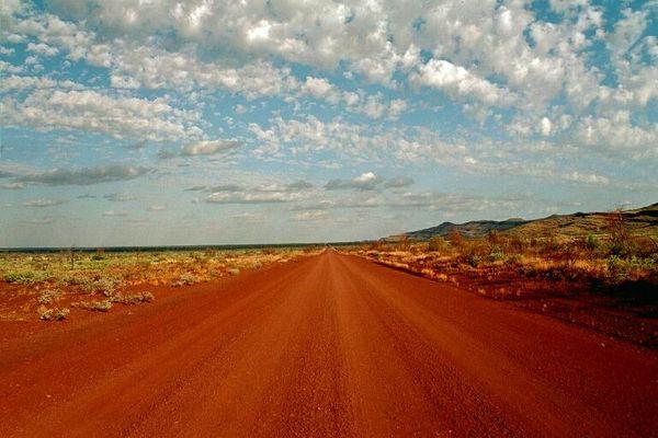 Der Great - Northern - Highway bei Broome
