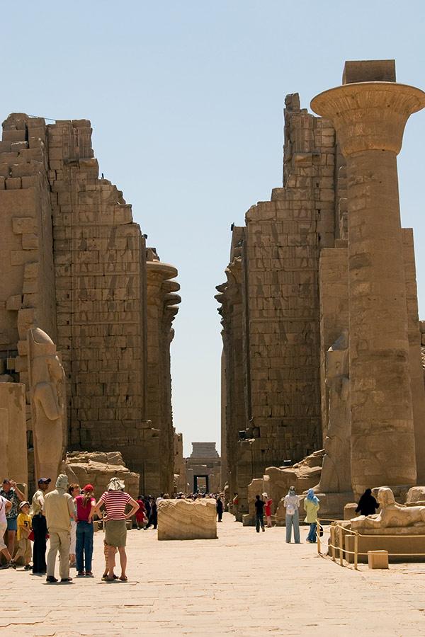 Der große Amon-Tempel von Karnak.. (F11)