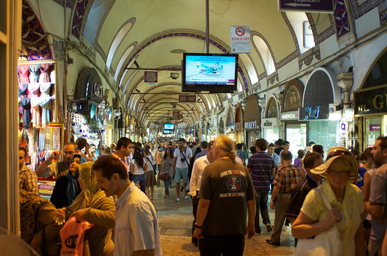 Der grosse basar in istanbul 2012