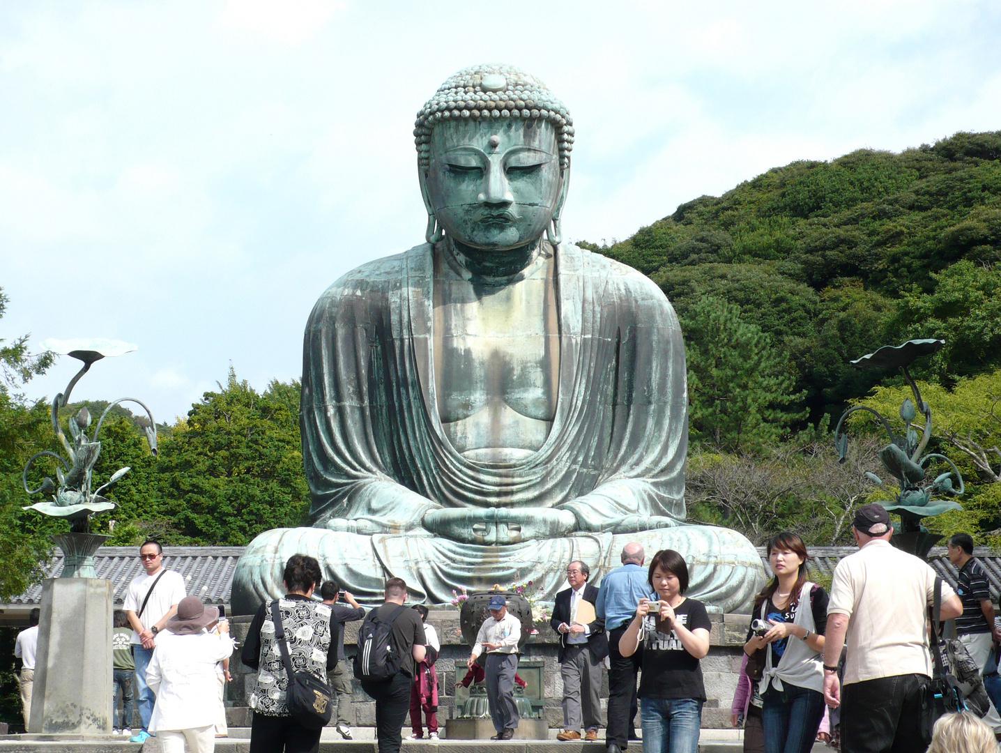Der große Buddha von Kamakura
