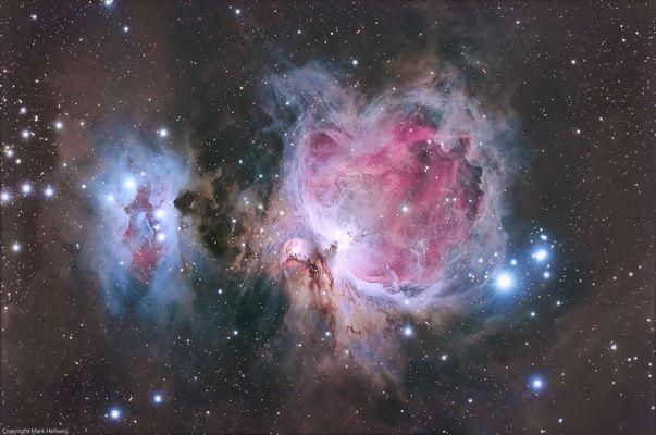Der große Orion Nebel - M 42