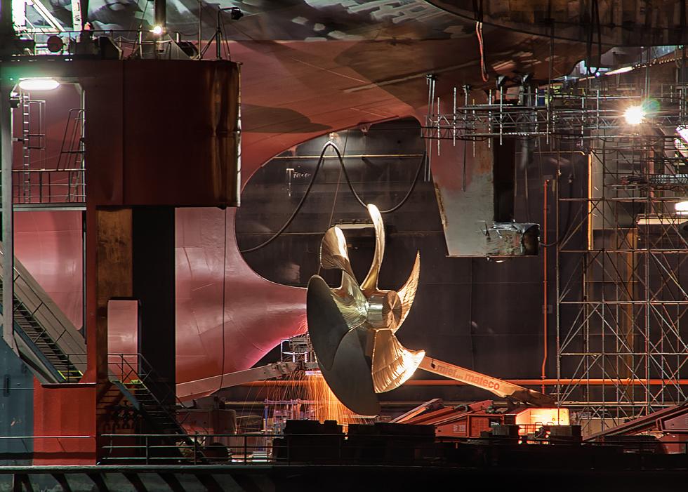 Der große Propeller...
